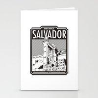 Salvador - Bahia - Brazi… Stationery Cards