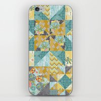 Starlight Patchwork  iPhone & iPod Skin