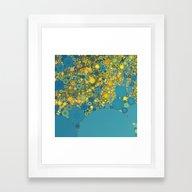 Sea And Sunshine Framed Art Print