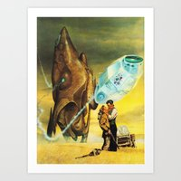 The Wild West Guide To The Galaxy #229 Art Print
