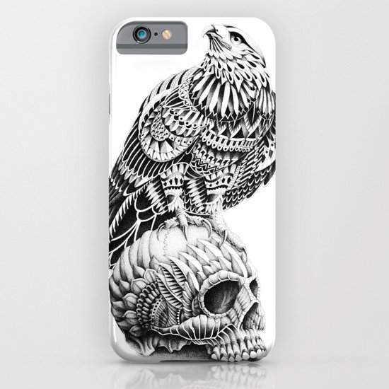 Red-Tail Skull iPhone & iPod Case