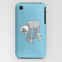 iPhone 3Gs & iPhone 3G Cases featuring Battle Damage by See Mike Draw