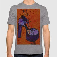 Shoe-Be-Do 2 Mens Fitted Tee Athletic Grey SMALL