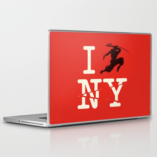 Sneak Attack Laptop & iPad Skin