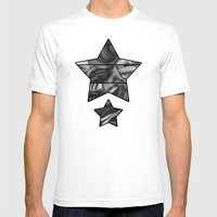 Abstract TechXpressionis… Mens Fitted Tee White SMALL