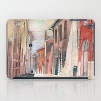Italy, Watercolor iPad Case