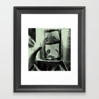 Tickling Buddha Framed Art Print