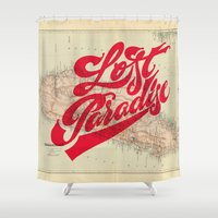 Lost Paradise Shower Curtain