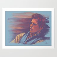 Art Print featuring Marius At The Barricades by Hiyas De Guzman