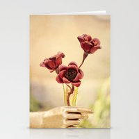 Red Beauty Stationery Cards