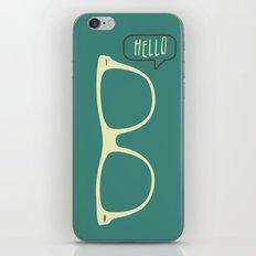 Hello Eyeglasses #1 iPhone & iPod Skin
