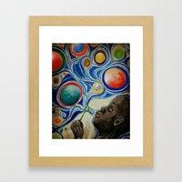 Bubble Boy Framed Art Print