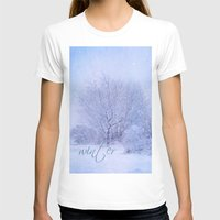 Winter Womens Fitted Tee White SMALL