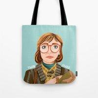 Log Lady Tote Bag