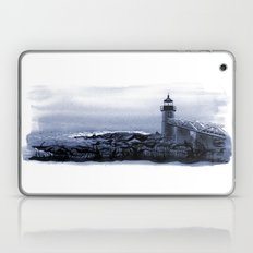 Lighthouse, Marshall Point, Maine Laptop & iPad Skin