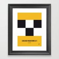 No002 My Taxi Driver Min… Framed Art Print