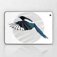 Magpie in Flight Laptop & iPad Skin
