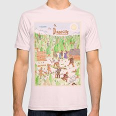 Locals Only- Danville Mens Fitted Tee Light Pink SMALL