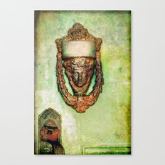 Brass Knocker Canvas Print