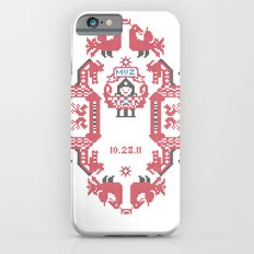 Embroidery  Slim Case iPhone 6s