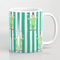 Clown (green) Mug