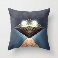 Flight Of Isis Throw Pillow