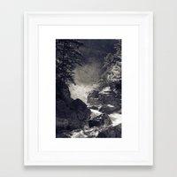 Glen Ellis Falls Framed Art Print