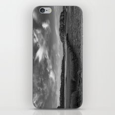 Sky and Marsh Black and white iPhone & iPod Skin