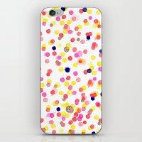 Watercolor Confetti! iPhone & iPod Skin