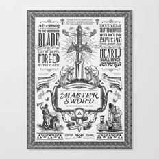Legend Of Zelda Vintage … Canvas Print