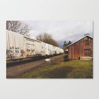 Mill Canvas Print