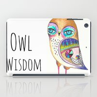 Owl Wisdom iPad Case