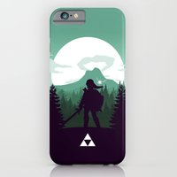 iPhone & iPod Case featuring The Legend of Zelda - Green Version by Casa del Kables