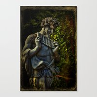 Pagan Pan Canvas Print