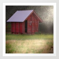 Country Glimmer Art Print