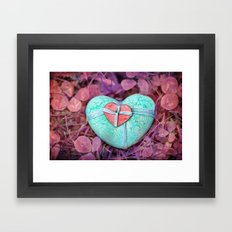 Be My Valentine Framed Art Print