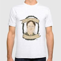 Dwight Schrute Mens Fitted Tee Ash Grey SMALL