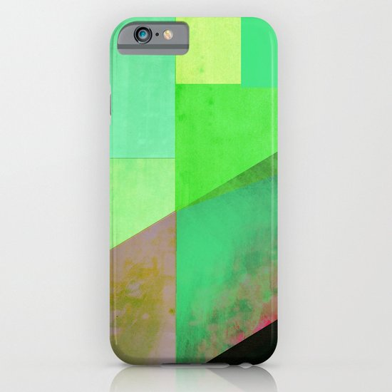 Green City Abstract iPhone & iPod Case