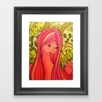 Girlie Girl   Framed Art Print