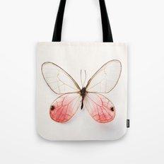 Pink Glasswing Tote Bag