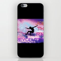 RAD revolution  iPhone & iPod Skin