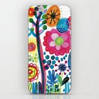 Flower_4 iPhone & iPod Skin