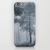 iPhone & iPod Case featuring Mistery forest. Retro by Guido Montañés