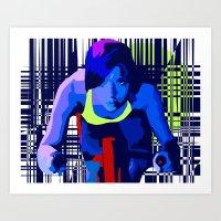 Spin2 Art Print