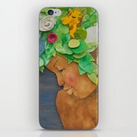 COLLAGE LOVE: Africa, the mother nature  iPhone & iPod Skin