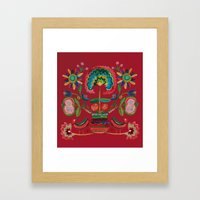 Ornament_3 Framed Art Print