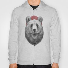 bearded bear Hoody
