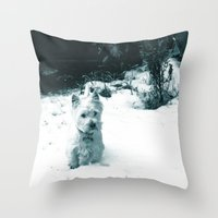 This Is Snow Fun... Throw Pillow