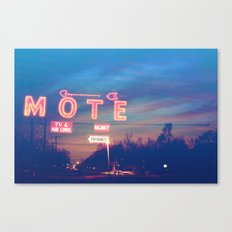 Tara Motel Canvas Print