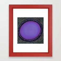 Random and Purpose Framed Art Print